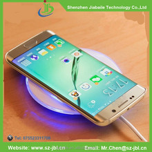 2015 new product china manufucture wholesale QI wireless charger for Samsung Galaxy S6 S6 edge