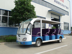 electric minibus, 14 seats, 6V x12sets battery, multifunctional bus!!