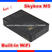 skybox m5 hd pvr / sky box m5 hd pvr satellite receiver skybox m5 with built-in wifi