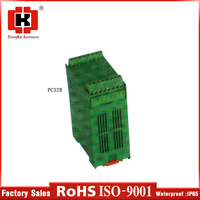 hot sale new products plastic standard slotted din rail enclosure