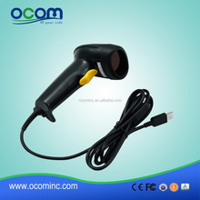 Cheap Handheld 1D Laser Barcode Scanner With USB Port