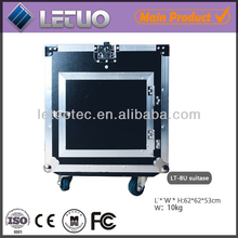 china manufacture 12U High quality amplifier flight case