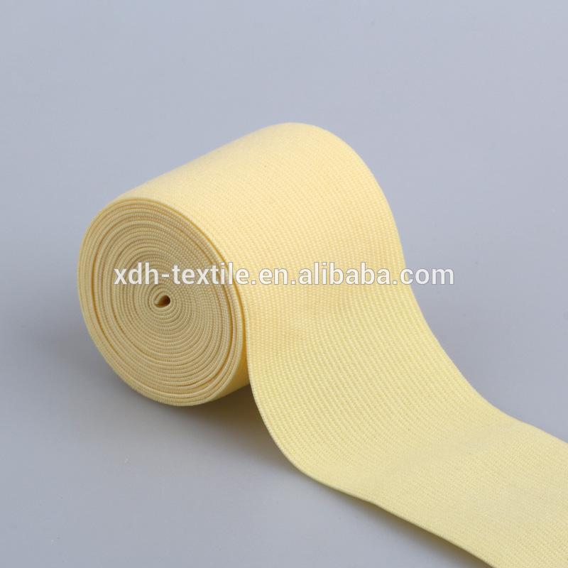 Tecido de Nylon cinto abdominal elástica crochê suportes elásticos