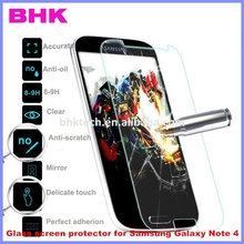 9H 2.5D round edge anti-scratch Glass screen protector for Samsung Galaxy Note 4,screen glass for Samsung Galaxy Note 4