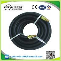 high pressure steel wire braided rubber hose , oil and temperature resistant