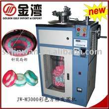 New developped elastic hair band knitting machine