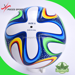 hand stitched soccer zorb ball