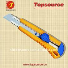 Hot Sale Mini Cheap Portable Folding Sliding Retractable Utility School Safe Art Knife for promotion