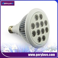 Heating lamps for greenhouses 12w grow led light e27 waterproof led growlight