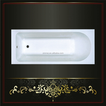 New design reasonable price bathtub with four legs CE listed