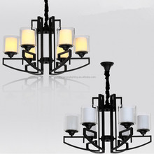 Dark Brown American Style Chandeliers Antique with UL cUL