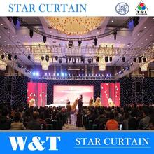 W&T Charming stars curtains for wholesales