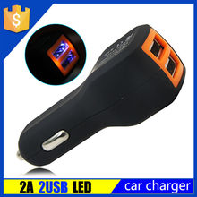 New Design 5V 2.1A Dual USB Car Charger 2 Port for iphone 6 Car Charger