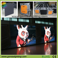 HD Clear Rental Paper Thin P4.8 Indoor Video LED Display Screen