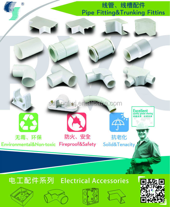 Full Types Electrical Pvc Name Pipe Fittings