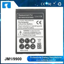 JM1 battery For Blackberry Bold 9790 9900 9930 Curve 9380 Torch 9850 9860 Battery Factory
