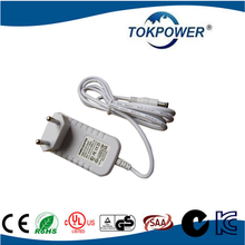 High Efficiency US Adapter 12V 1A 12W with UL CB FCC Certification