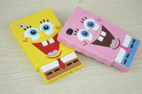 New Style Cute 3D SpongeBob Cartoon Pattern Design Soft Silicone Case For iPhone4s From Alibaba China