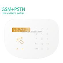 Smart Security Wireless Home GSM PSTN Alarm,Intelligent APP home RFID alarm, Android/IOS GSM Burglar Alarm System / Contact ID