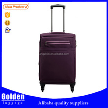 classic-design business carry-on luggage/ spinner universal wheels luggage case/ aluminum trolley luggage bag