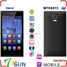 hot new products for 2015 P300 5.0 inch MTK6572 Dual Core Android Mobile Phone Dual Sim GPS 3g smartphone
