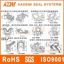 Customized Compound rubber auto sunroof rubbers tire rubber compound