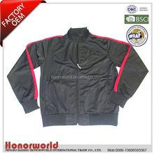 BSCI approved 20 years OEM supplier women s plain black jacket