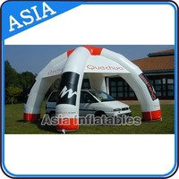 Water proof custom Inflatable Spider Dome Tent for Car Cover