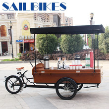 multi function big cargo bikes coffe bicycle on sale