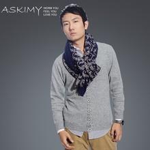 Bufanda de lana hombres 100% de lana pañuelos de china al por mayor