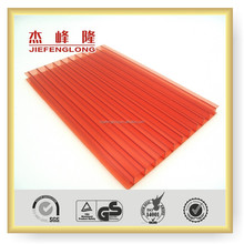 4mm 6mm 8mm 10mm 12mm 2 Layers Polycarbonate Sheet PC Sheet Sun Sheet Plastic Building Material