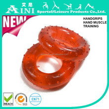 Fitness Exercise Strength Developer,Rubber Massage Hand Grip Ring