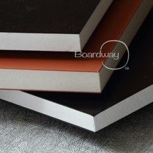 Best price good rigidity hight glossy waterproof color pvc sheet for POP