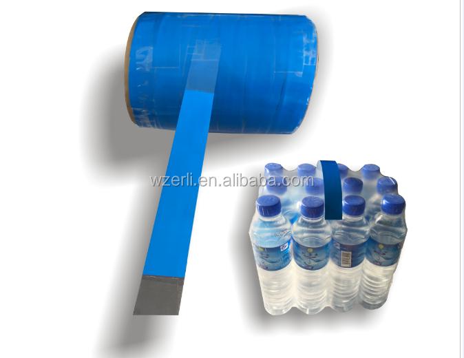 Venta caliente asa de transporte para shink película paquete, MOPP asa de cinta adhesiva con una fuerte adhesión