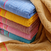 EAswet Yarn Dyed High Quality Bath Towel With Dobby Border