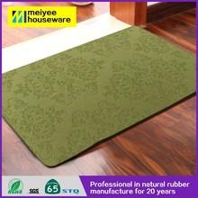 Popular hot sale colorful PVC floor mat for advertisement,anti-skid custom new design door mat eco friendly natural soft mat