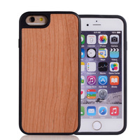 New Material Wood And Tpu Mobile Case For iPhone 6 6s Case