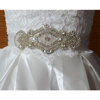 New arrival Fashion Bling Bling Decorative Crystal Rhinestone Applique wedding garment accessories