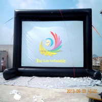 Hot Sale Wholesale Outdoor Advertising Inflatable Billboards,Inflatable Movie Screen