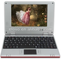 Hot sale! manufacture 7 inch mini laptop computer VIA WM8650 Android 2.2