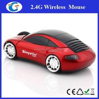 Latest Laptop Accessories Drivers USB Optical Car Shape Mouse