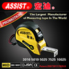 ASSIST high quality tape measure ABS+TPR 5M contractor heavy duty round tape measure promotional tape measure