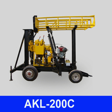 Can drill rocks AKL-200C geophysical equipment