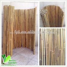 Eco- ambiente baratos bambú tratado de rollo de esgrima