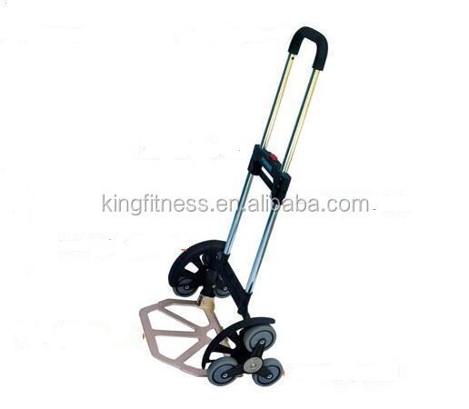 Aluminio carretilla plegable 6 ruedas carretilla plegable - Carretilla de mano plegable ...