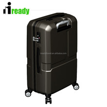 PC or ABS hard cases hand luggage trolley case for business man