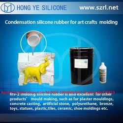 Condensation cure silicone for art craft molding ( very professional silicone rubber manufacturer )