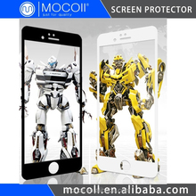 Hot Sell, 9H Anti-Scratch Color Screen Guard for Iphone 6, 3D Mobile Phone Cover Mobile Accessories