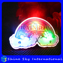 Factory Customized Safety Pin/Butterfly Clutch/Magnet Accessory Led Pin, Led Light Up Pin