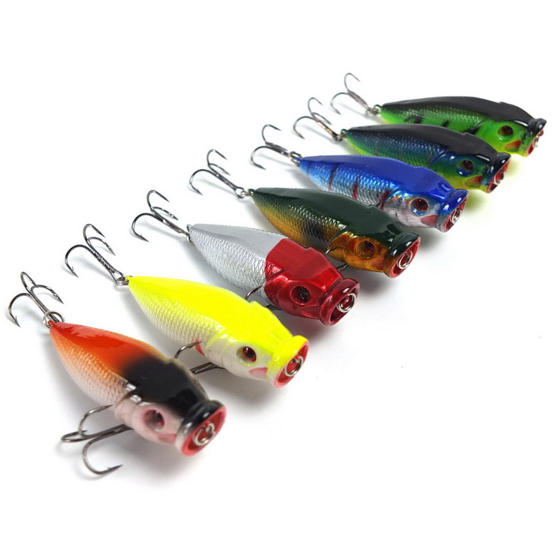 Wholesale 6cm 9g fishing lure fishing tackle topwater for Cheap fishing lures bulk